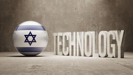 Israel Technology Concept Фото со стока