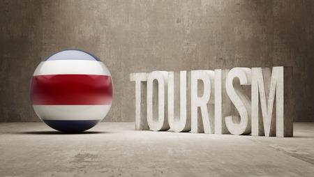 costa rica: Costa Rica   Tourism Concept