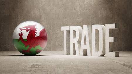 Wales   Trade Concept photo