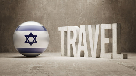 israel passport: Israel Travel Concept