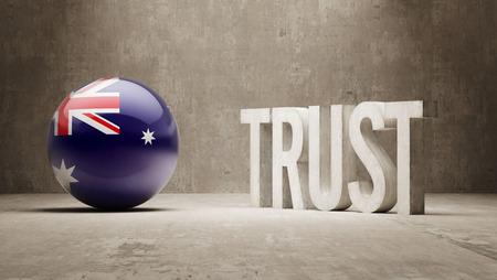 reliance: Australia  Trust Concept