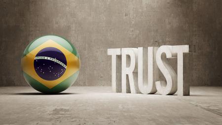 confianza concepto: Brasil Concepto Confianza