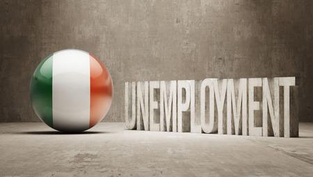 unemployment: Ireland  Unemployment Concept
