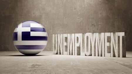 Greece  Unemployment Concept photo