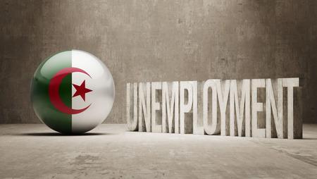 Algeria  Unemployment Concept photo