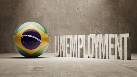 Brazil   Unemployment Concept photo