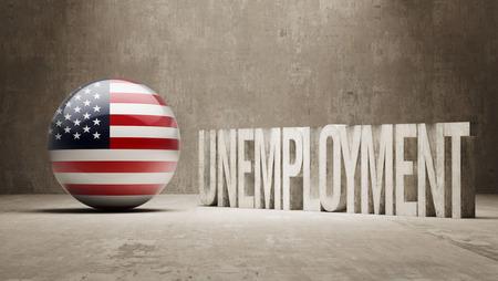 unemployment: United States   Unemployment Concept