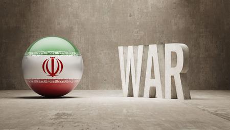 tussle: Iran War Concept