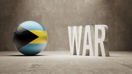 tussle: Bahamas  War Concept