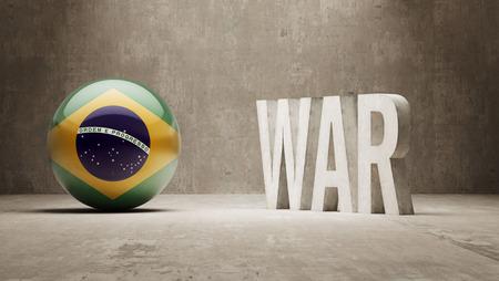 brasilia: Brazil War Concept Stock Photo