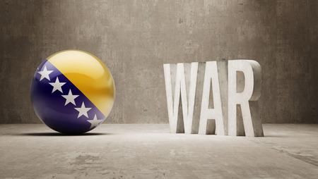 bosnia and herzegovina: Bosnia and Herzegovina   War Concept