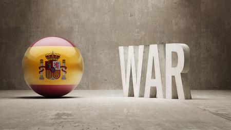 controversy: Spain  War Concept