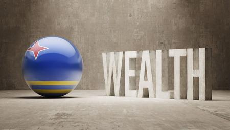Aruba  Wealth Concept
