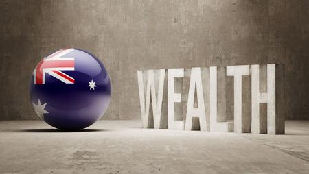 Australia  Wealth Concept