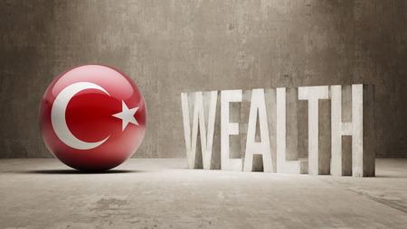 Turkey  Wealth Concept Stock Photo