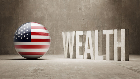 United States  Wealth Concept Stock Photo