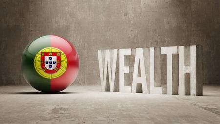 Portugal  Wealth Concept