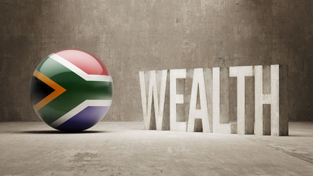 South Africa Wealth Concept photo