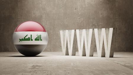 url virtual: Iraq   WWW Concept