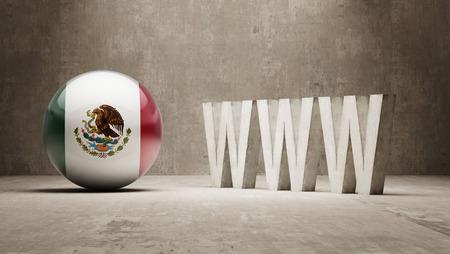 url virtual: Mexico WWW Concept