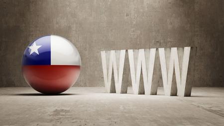 url virtual: Chile   WWW Concept