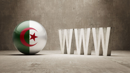 url virtual: Algeria  WWW Concept