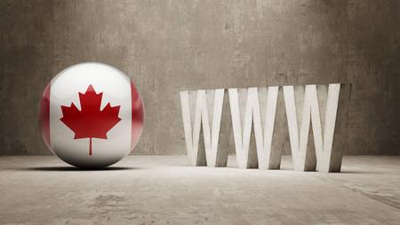 Canada   WWW Concept photo