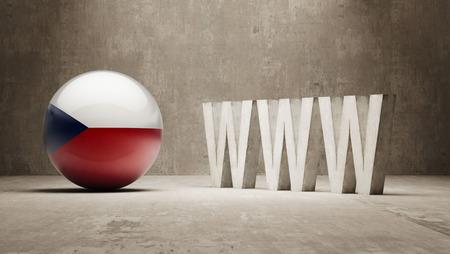 url virtual: Czech Republic  WWW Concept