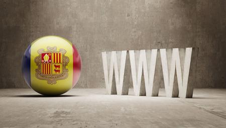 url virtual: Andorra  WWW Concept