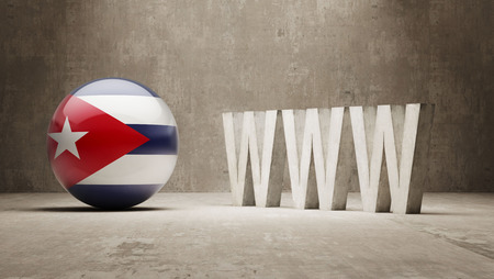 url virtual: Cuba  WWW Concept