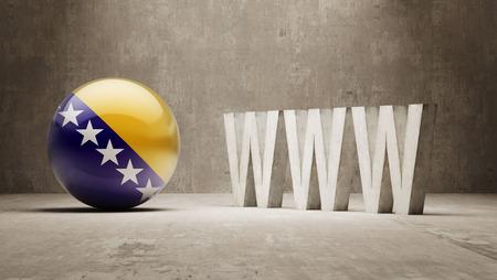url virtual: Bosnia and Herzegovina WWW Concept