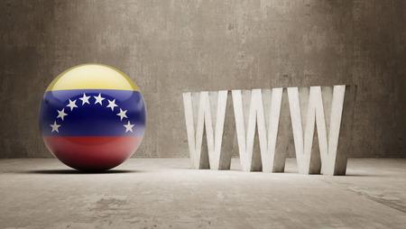 url virtual: Venezuela  WWW Concept