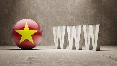 url virtual: Vietnam   WWW Concept