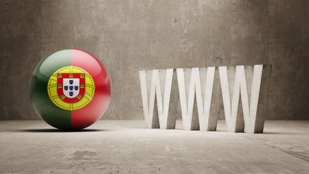 url virtual: Portugal High Resolution WWW Concept Stock Photo
