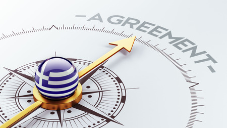 Greece High Resolution Agreement Concept photo
