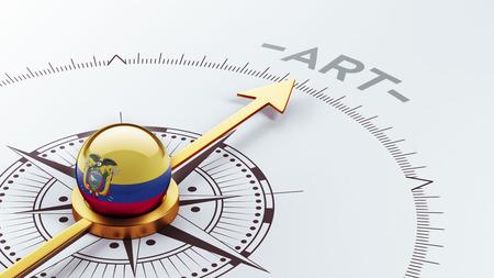 artistry: Ecuador High Resolution Compass Concept
