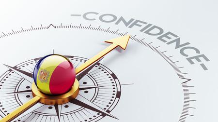 Andorra High Resolution Confidence Concept Stock Photo