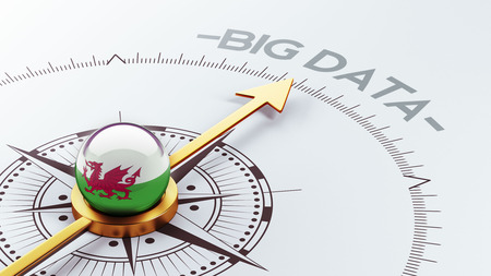 Wales High Resolution Big Data Concept photo