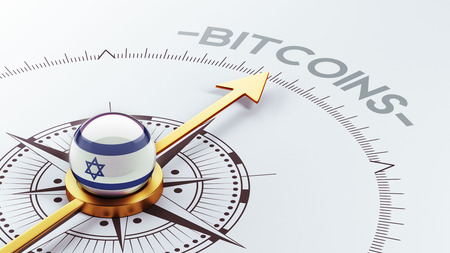 electronic guide: Israel High Resolution Bitcoin Concept