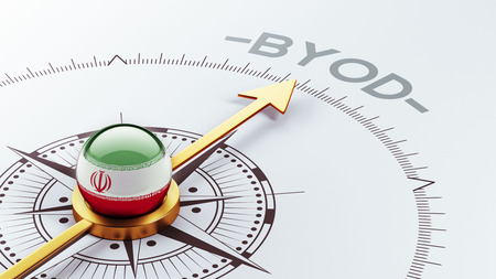 Iran High Resolution Byod Concept Stock Photo - 28442463