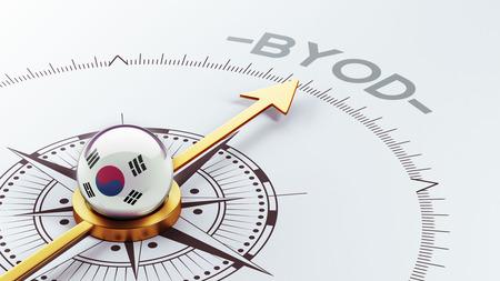 electronic guide: South Korea High Resolution Compass Concept