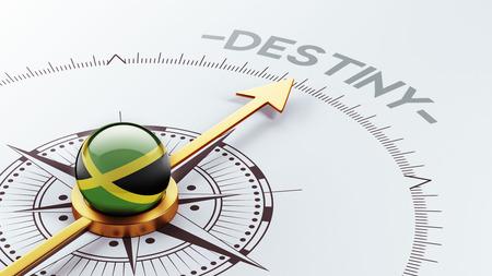 inevitability: Jamaica High Resolution Destiny Concept Stock Photo