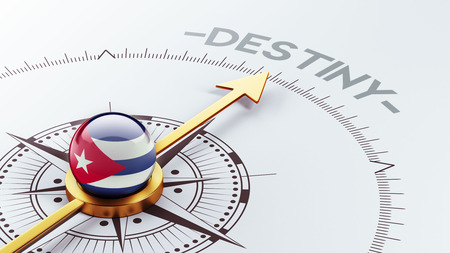 Cuba High Resolution Destiny Concept Stock Photo