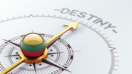 inevitability: Lithuania High Resolution Destiny Concept Stock Photo
