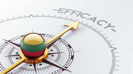 efficacy: Lithuania High Resolution Efficacy Concept Stock Photo