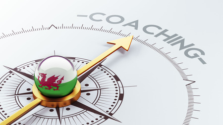 Wales High Resolution Coaching Concept photo