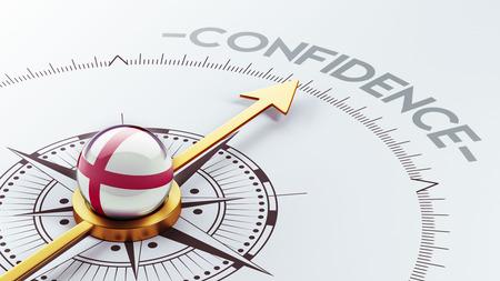 England High Resolution Confidence Concept