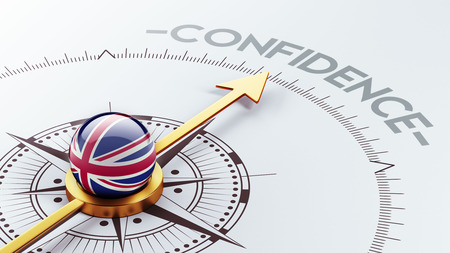 United Kingdom High Resolution Confidence Concept photo