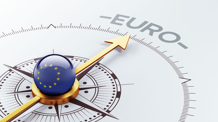 European Union High Resolution Euro Concept 写真素材