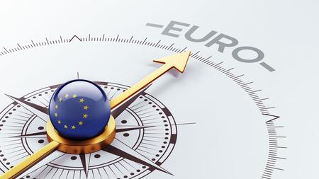 European Union High Resolution Euro Concept Stock Photo